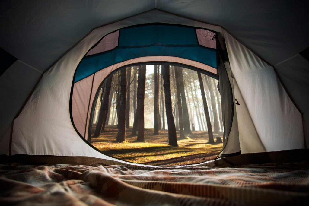 make your own camping tent