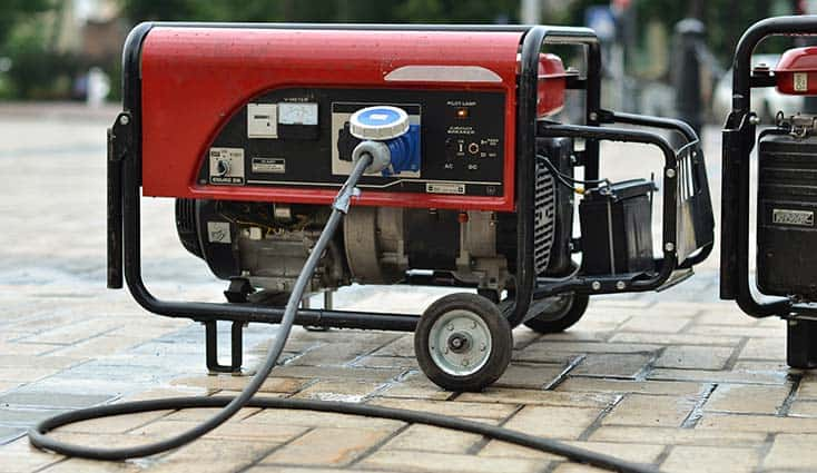 how to ground a camping generator