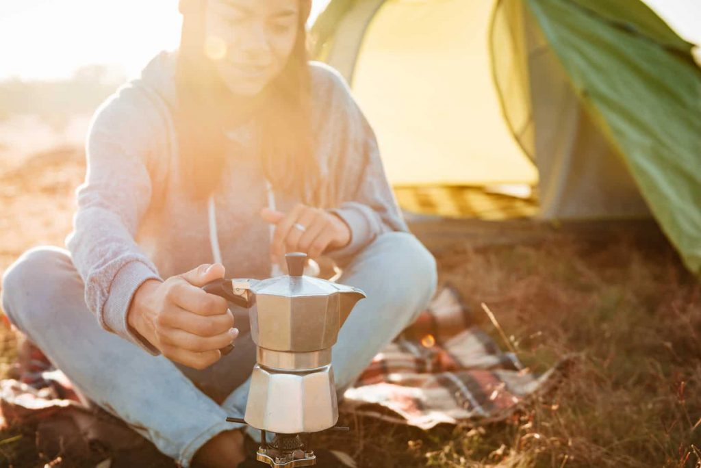 How to Make Coffee while Camping and Backpacking