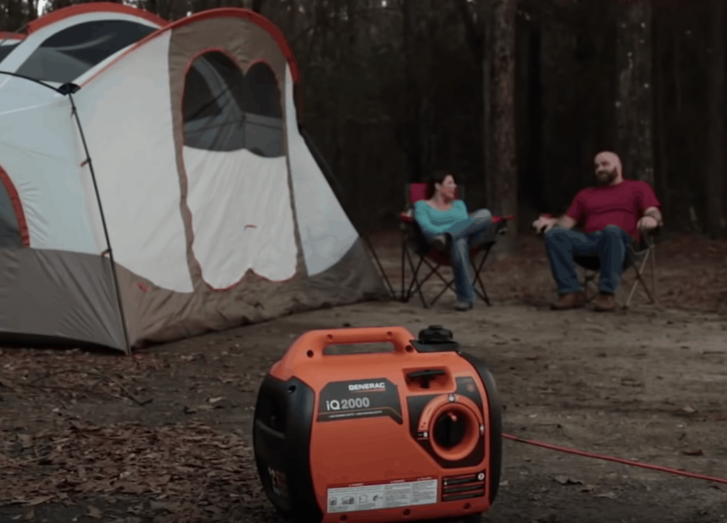 make a generator quiet for camping