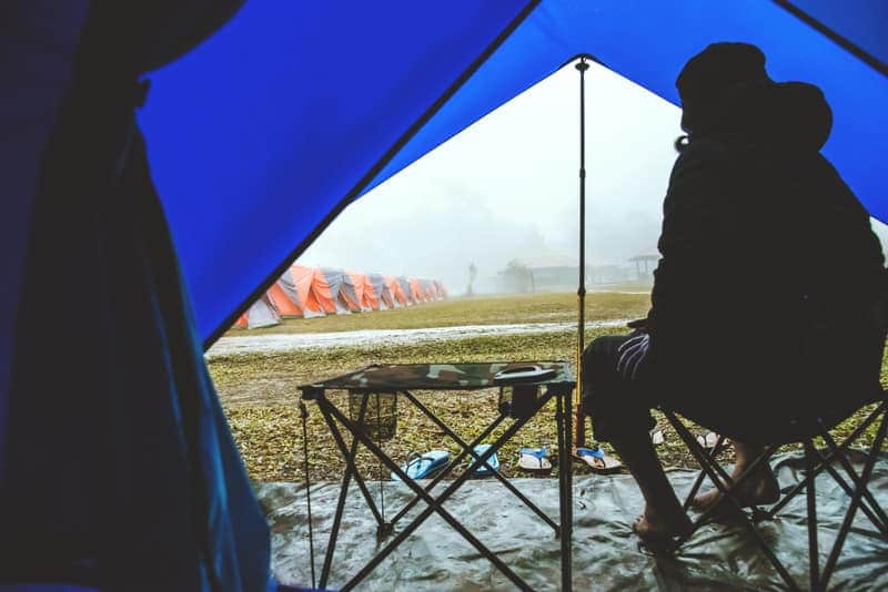 How to Rainproof a Tent in 3 Easy Steps