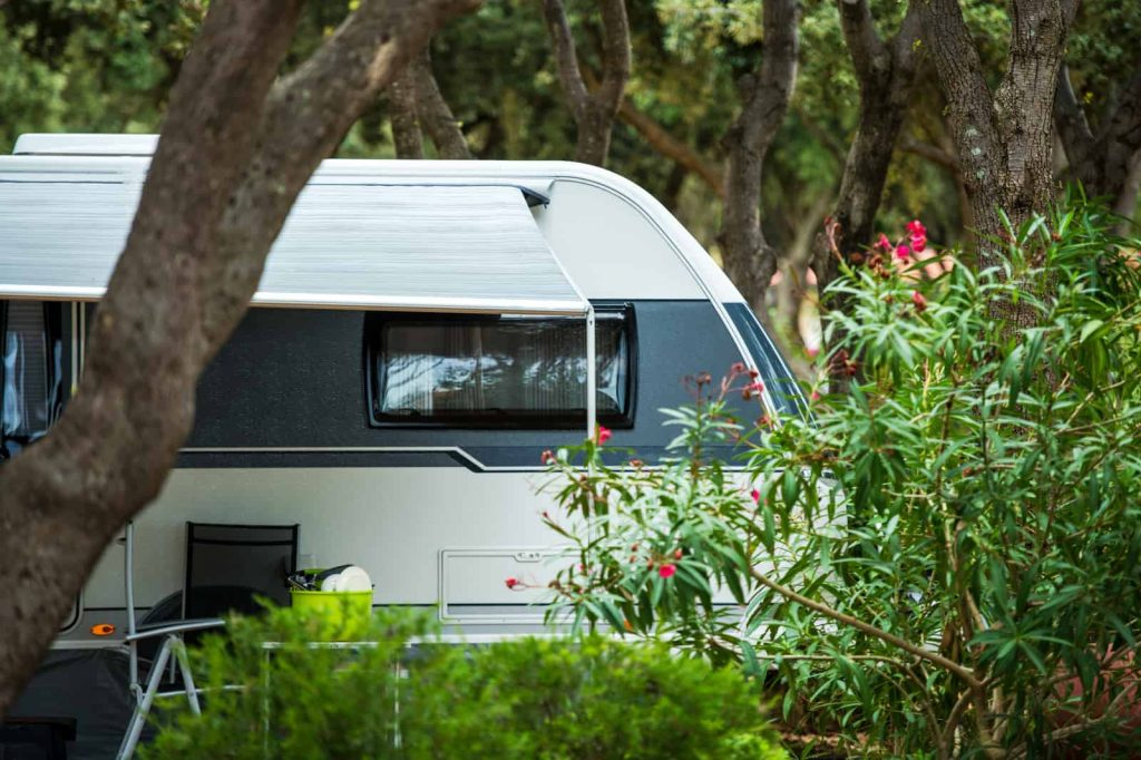 stealth camping with an RV