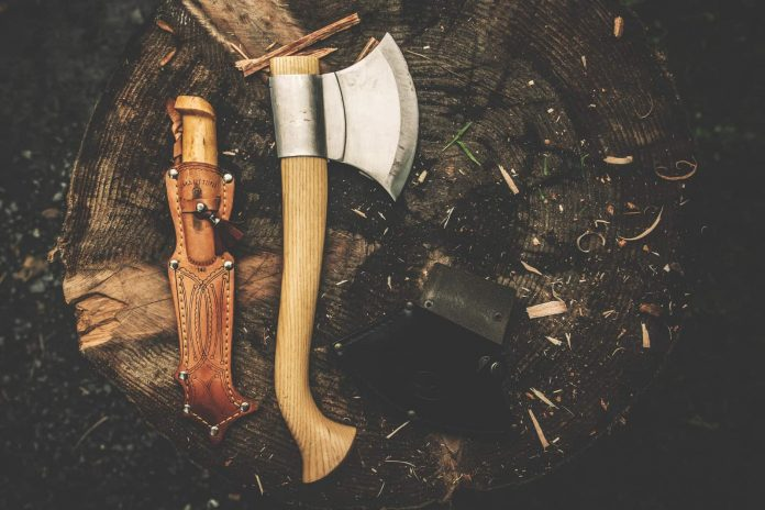 bushcraft camping experience