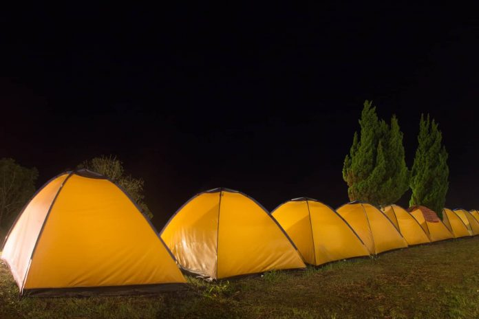 several camping tents under 100