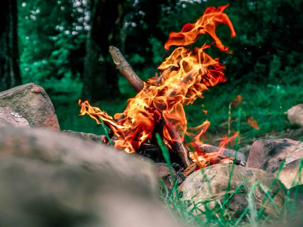 How to Start a Fire with Rocks When Camping