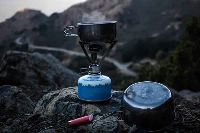 outdoors DIY camping stove