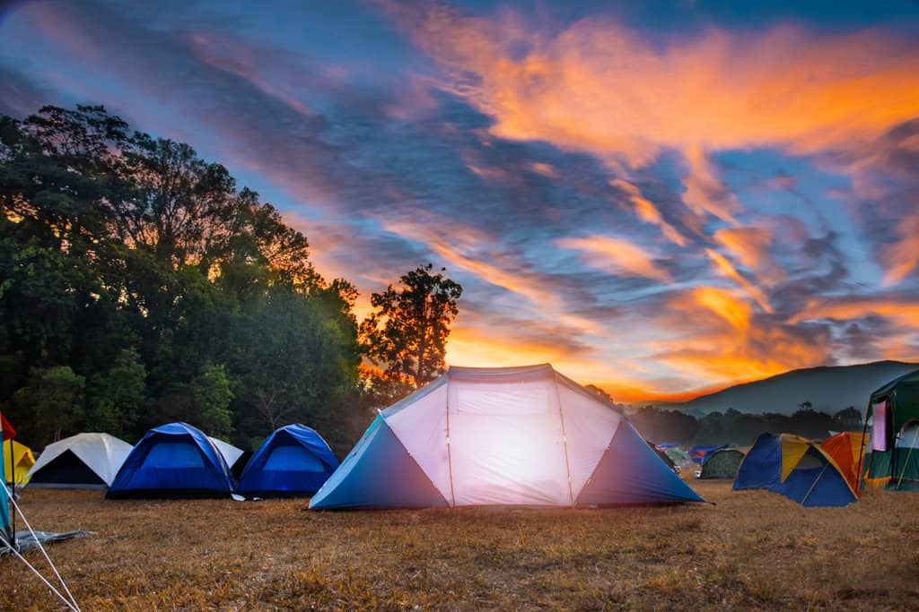 how can you make your tent camping way more comfortable