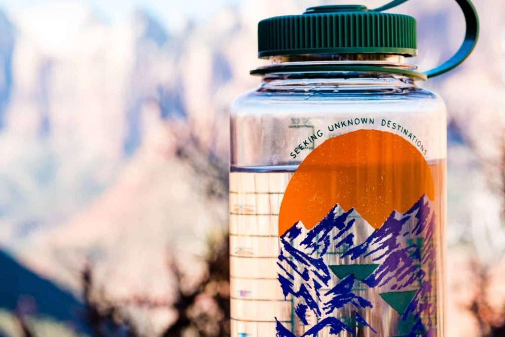 bring camping water with you