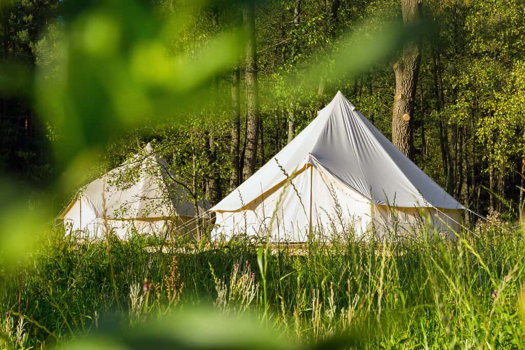 canvas tent for outdoors