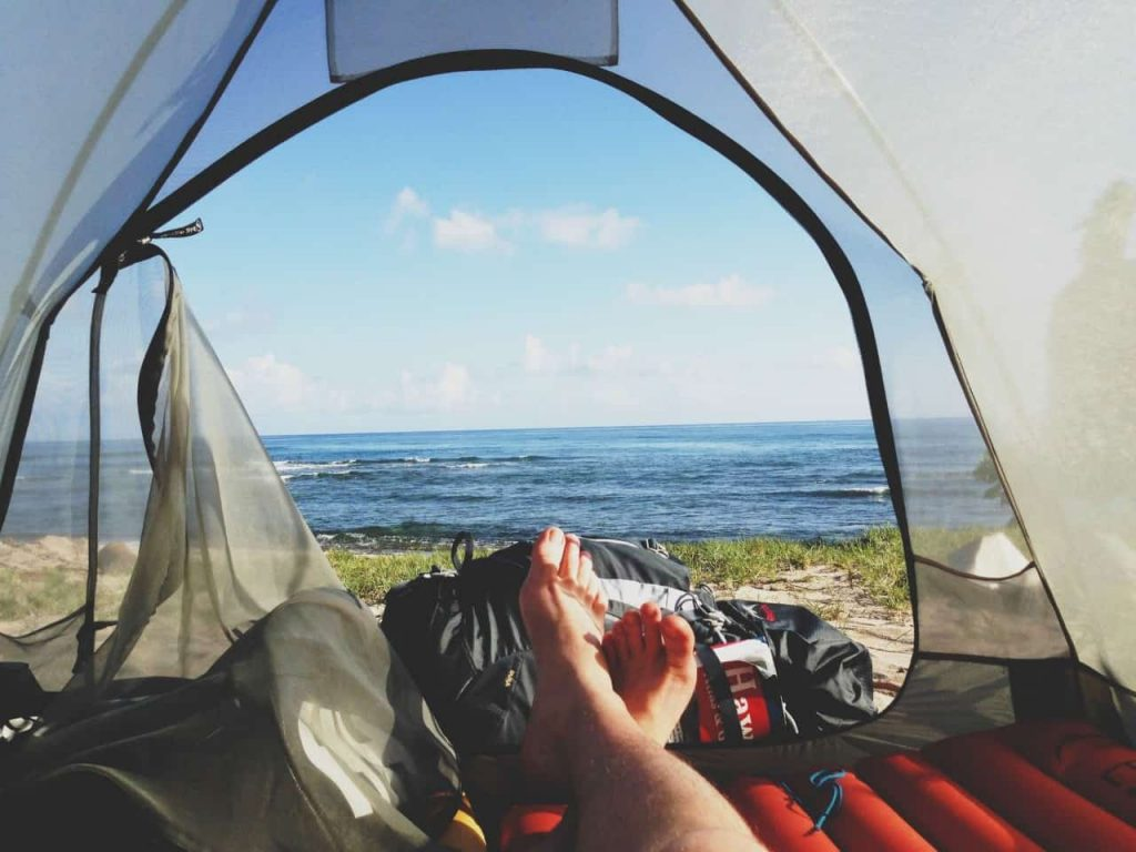 sleep better while camping under the stars