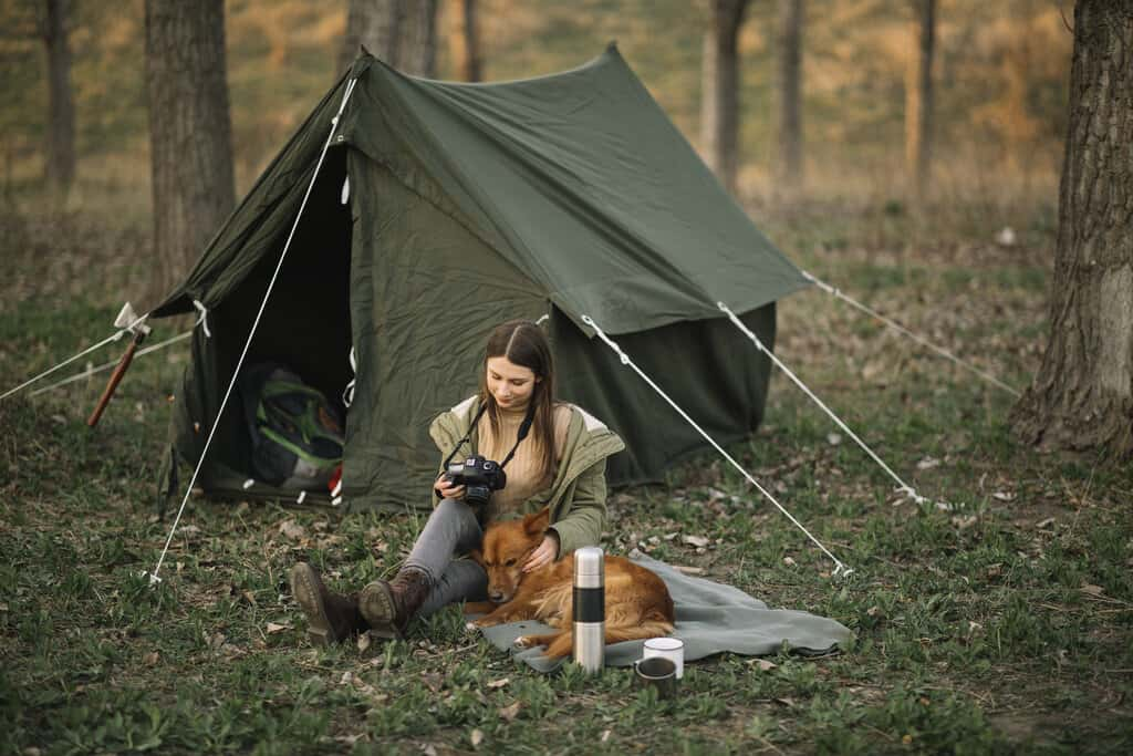 How to Camp with a Dog with Our 12 Tips