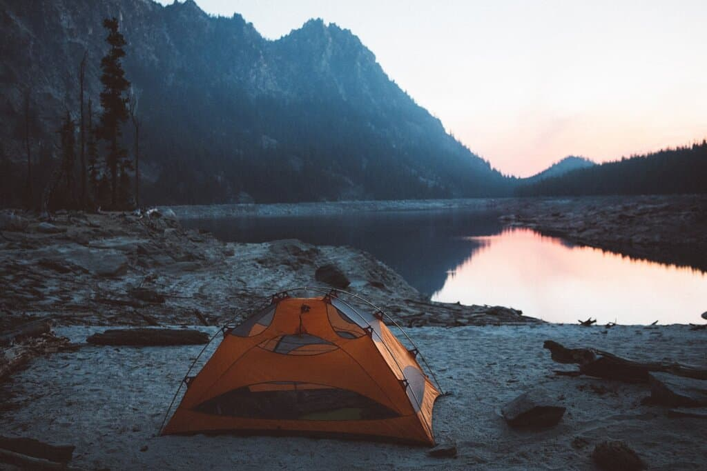 set up eureka camping tent