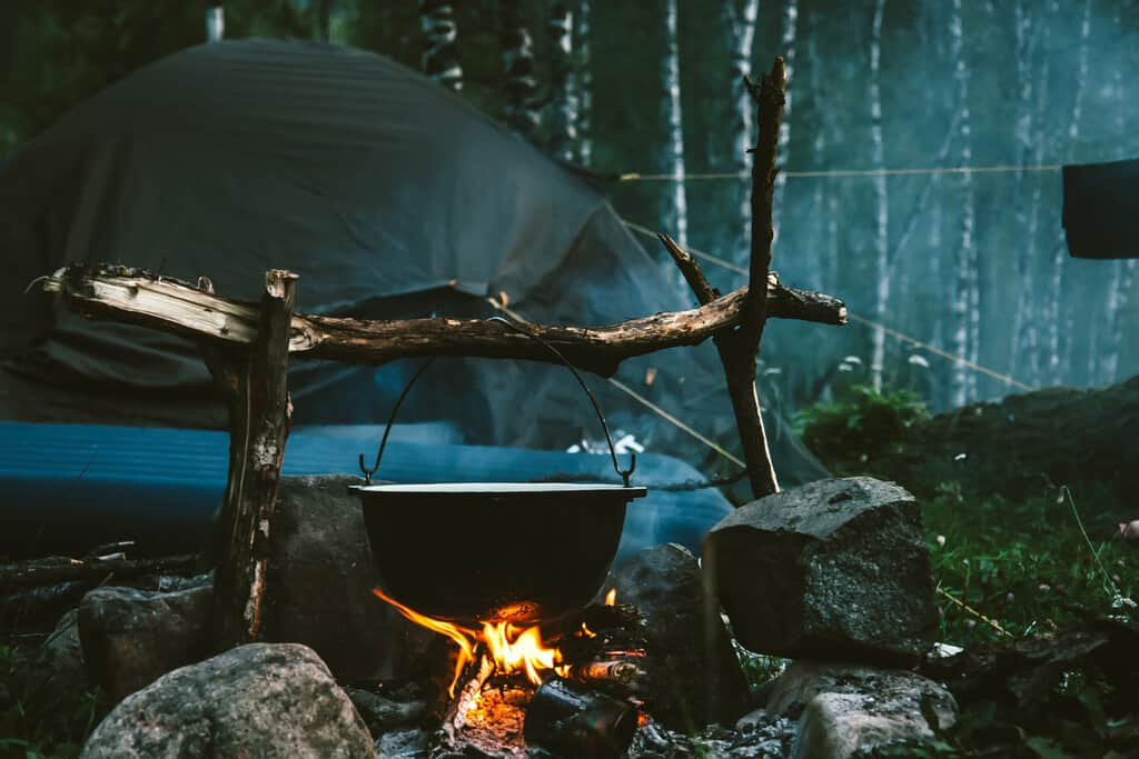 survival cooking methods