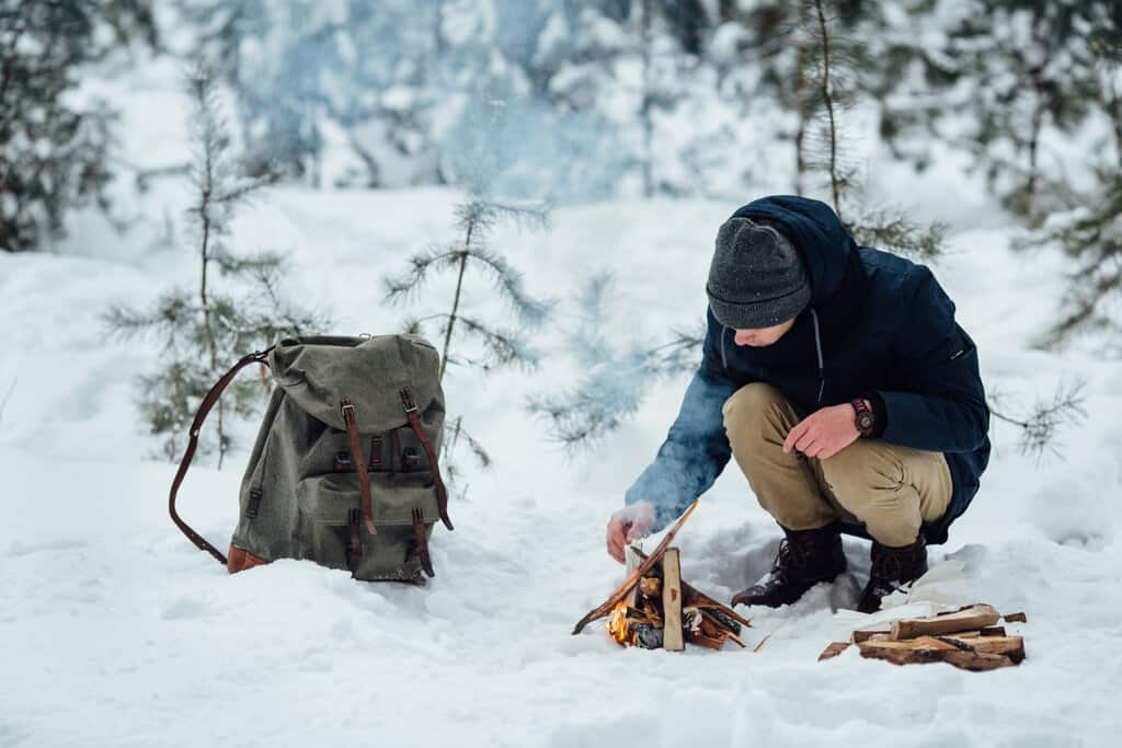 How to Camp in the Snow Safely