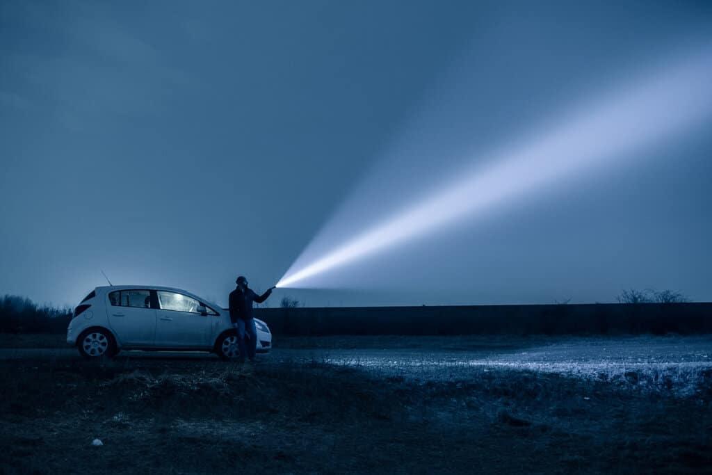 led flashlight for hunting